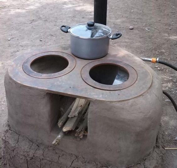 Manual para construir una cocina a le a mejorada - Cocina a lena ...