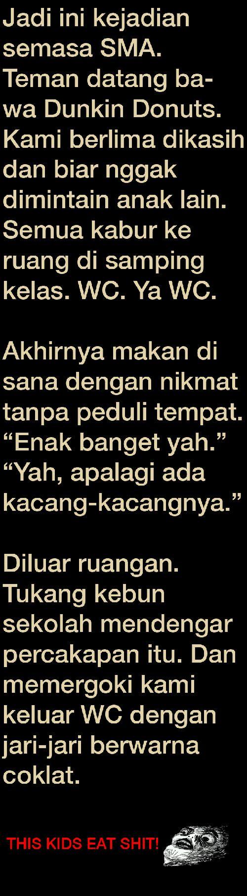 Funny Humor Indonesia DunkinDonut Lucu Wkwkwk Pinterest