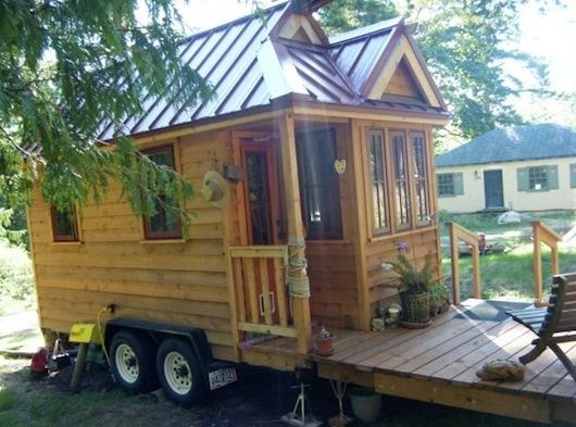 Build Your Own Tiny House On A Trailer Tiny House Tiny House Design House