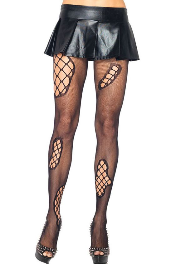 Collant Sexy Punk Resille Collants – Modebuy.com