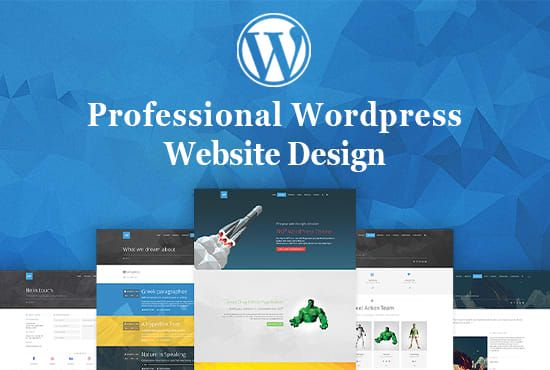 Create A Professional And Modern Wordpress Website Design Wordpress Website Design Wordpress Website Wordpress Website Builder