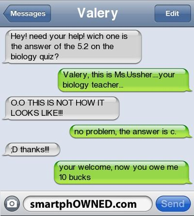 flirt text fails lol