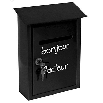 bo te aux lettres incidence en vente sur endroits visiter pinterest design. Black Bedroom Furniture Sets. Home Design Ideas