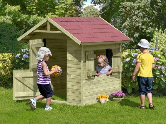 Kinderspielhaus CLASSIC Henrik | Kinderspielhäuser | MESEM.de