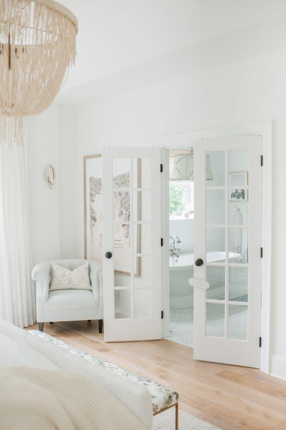the dreamiest white bedroom you will ever meet french