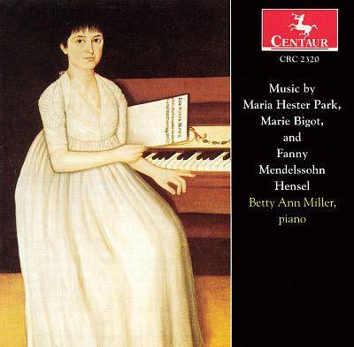 01.19.16 // music by maria hester park, marie bigot, and fanny mendelssohn hensel