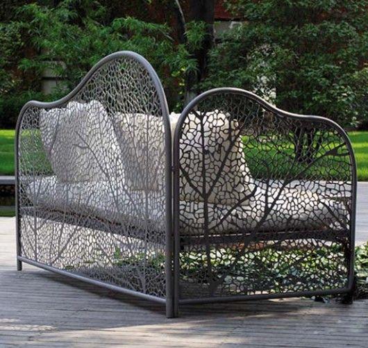 Cool Garden Sofa.