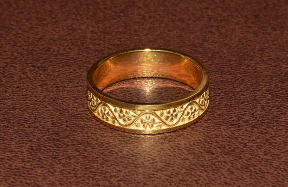 Elegant Flower Pattern Filling Ring Jewelry by DanelianJewelry