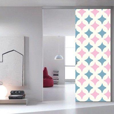 Selbstklebende Folien für Türen