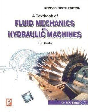 Fluid Mechanics By Rk Bansal Pdf Fluid Mechanics Mechanical Engineering Free Pdf Books