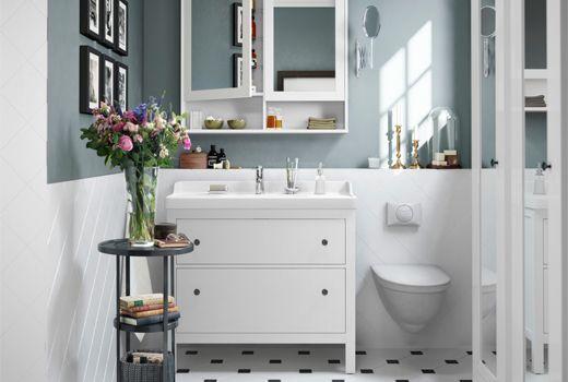 Hemnes Bathroom Collection In 2020 Ikea Bathroom Bathroom Decor Trendy Bathroom
