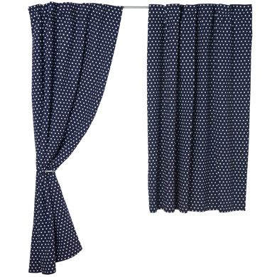 Navy Star Blackout Curtains for Kids (Pair) - Blackout Curtains ...