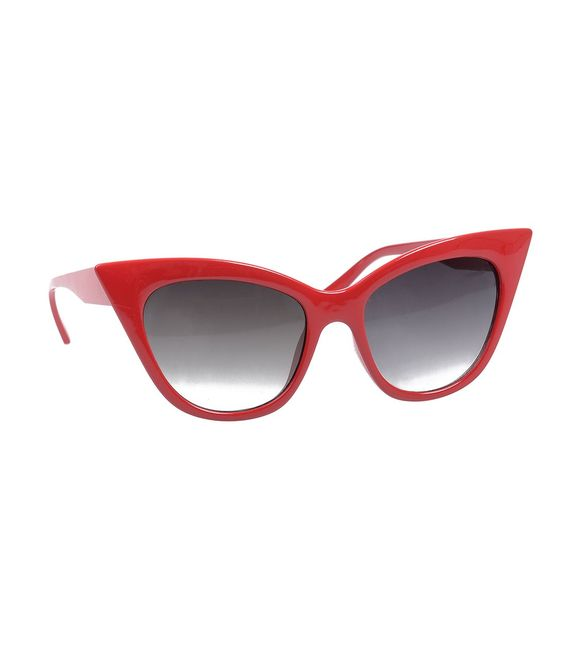 Red Pointed Cat Eye Sunglasses #uniquevintage