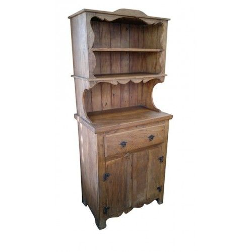 Armário cozinha madeira de demolição - 1608 #arte #moveis #rusticos - www.artemoveisrusticos.com.br