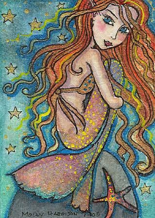 Molly Harrison Sparkling Mermaid