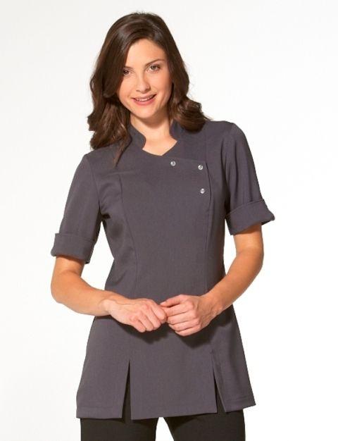 La beeby hair beauty uniforms salon wear spa for Spa uniform tunic