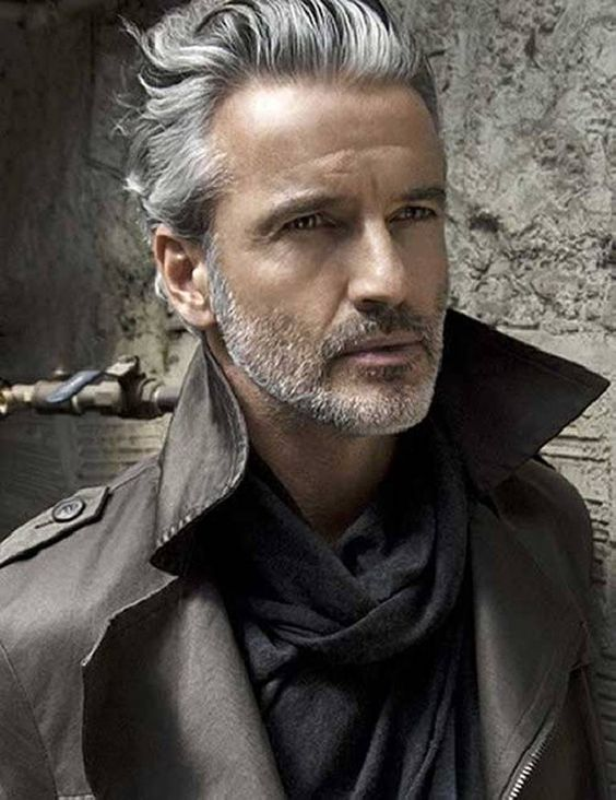 Wondrous Grey Men Hair And Trends On Pinterest Hairstyles For Men Maxibearus