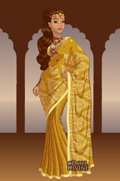Indian style saree dress up games
