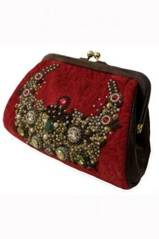 sabyasachi clutch replica embroidered