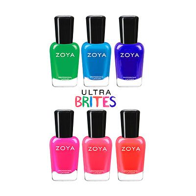 Zoya Ultra Brites Safe Neons collection Summer 2016