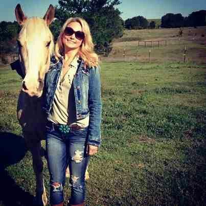 Miranda & her new horse Willowbrand ♥