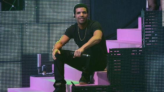 Rapper Drake is the son of a black father and a white Jewish mother…