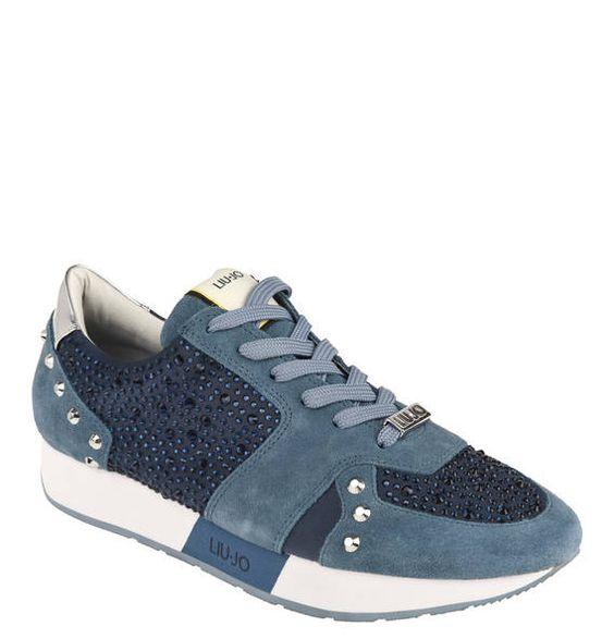 #Liu #Jo #Laufschuh #Aura, #Strass, #Materialmix - Sportlicher Sneaker Aura von…