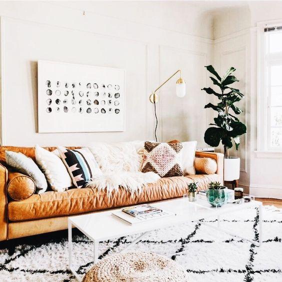 Mua sofa da thật tphcm đúng phong thủy chủ nhà