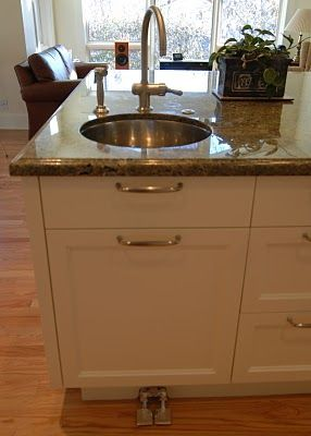 Sink foot pedals For the Home Pinterest Kitchens And Bathrooms ...