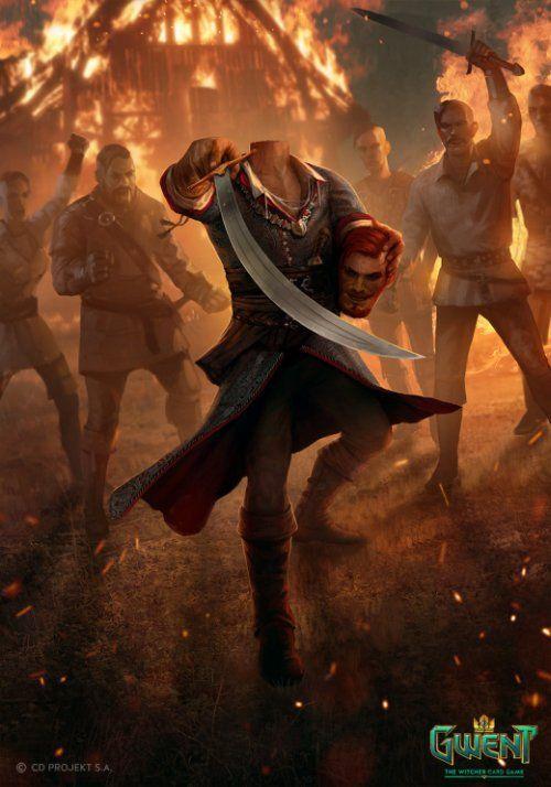 As Ilustracoes De Fantasia Para O Jogo Gwent The Witcher Card Game De Nemanja Stankovic O Mago Ilustracoes Witcher