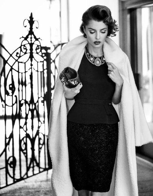 Znalezione obrazy dla zapytania fashion glamour and elegant style