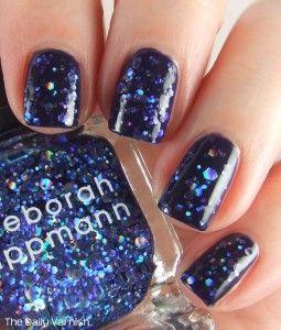 Deborah Lippmann Va Va Voom and Barielle Moda Bleu