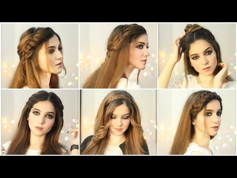 6 Easy Hairstyles Hairstyles For Girls Open Hairstyles Hairstyle For Eid How To Style Long Hair Youtube In 2020 Open Hairstyles Easy Hairstyles Long Hair Styles