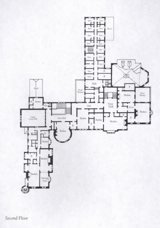 Seaview House Designed By Parsonson Architects: Marble House Newport Floor Plan