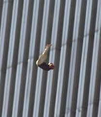 Afbeeldingsresultaat voor 9/11 twin towers people jumping