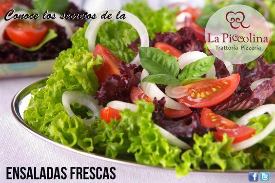 Conoce lossecretos de LaPiccolina N°2 Si desea añadir limón o vinagre a ensaladas con verduras frescas, colóquelo justo antes de servirlas para evitar que estas se marchiten.