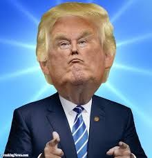 Donald Trump 2016 Republican Presidential Nominee...... Try not to laugh.
