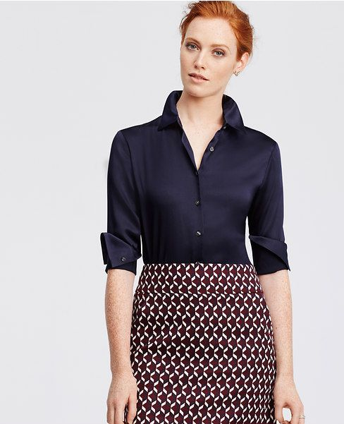 Primary Image of Silk Blouse