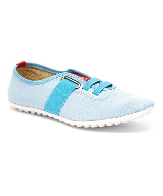 These Blue Peaton Sneakers by Zulily are super cute. As are other styles from their New Machine Washable Organic Line