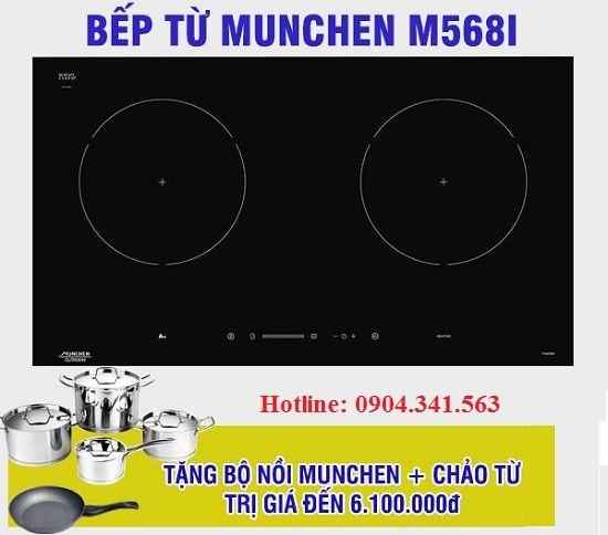 Tại sao bếp từ Munchen M568I lại khiến người dùng phát sốt