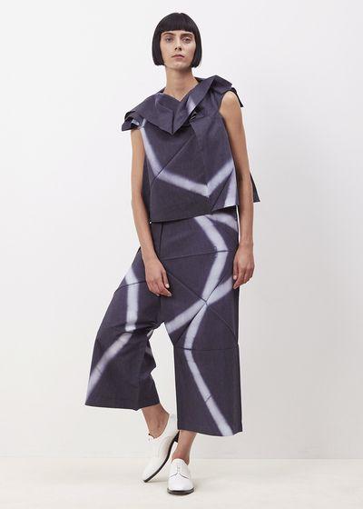Issey Miyake 132 5 Grid Tie Dye Pant (Charcoal Grey)