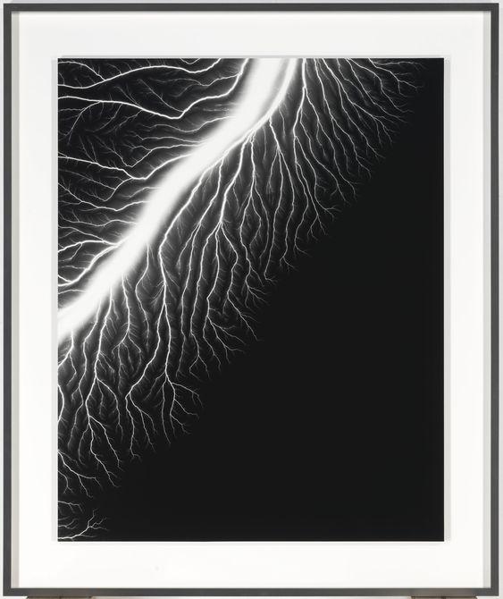 Hiroshi Sugimoto, Lightning Fields #128, 2009