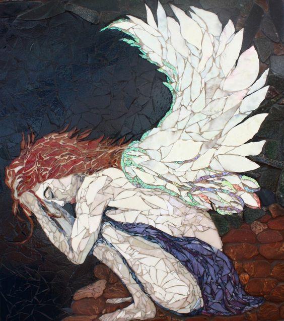 Posts à Beira Mar: Os magníficos mosaicos de Laura Harris: