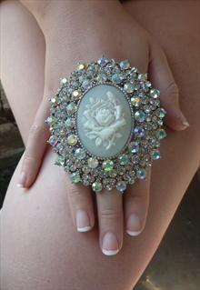 Vintage Style Cameo Ring