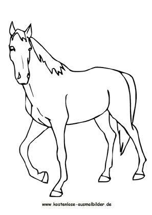 Ausmalbild Pferd 4 Ausmalbilder Pferde Ausmalbilder Pferde Zum Ausdrucken Ausmalen
