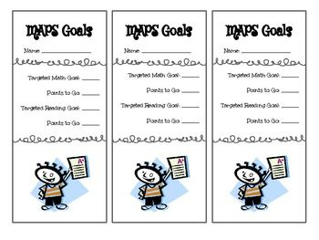 Goal-Setting Reflection Pages (aligned to NWEA-MAP test) by ...