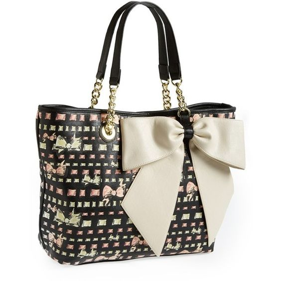 Betsey Johnson Tote (€72) ❤ liked on Polyvore