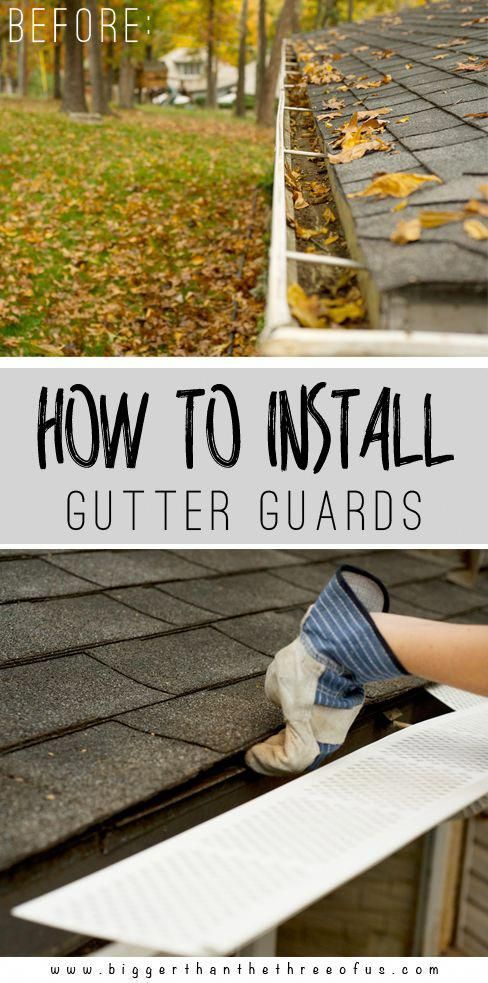 From Seamless Gutter Installation To Leaf Protection The Home Depot Has You Covered On Ways To Protect Your House F How To Install Gutters Gutter Guard Gutter