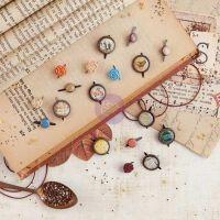 Brads - Vintage Emporium by Prima Marketing for Scrapbooks, Cards, & Crafting found at FotoBella.com
