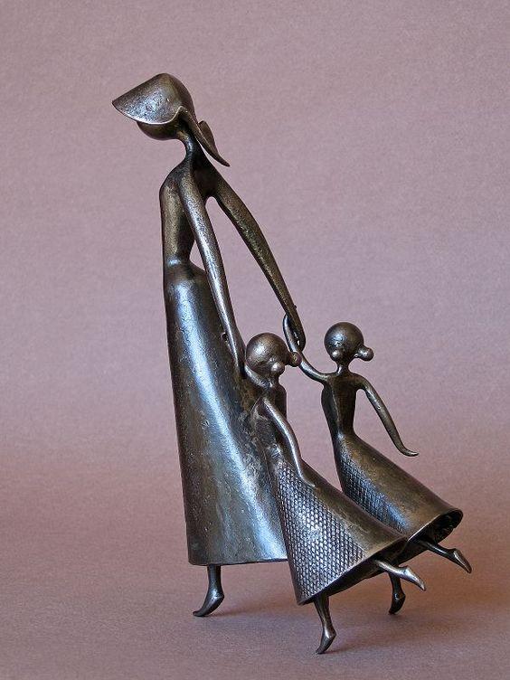 Jean-Pierre Augier  Metal sculpture
